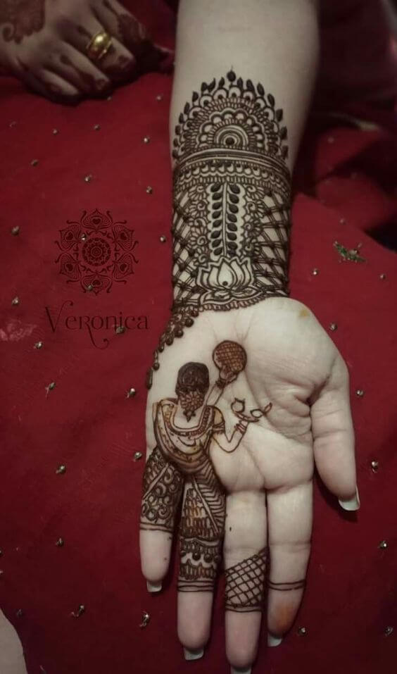 Images of Latest Mehndi Design