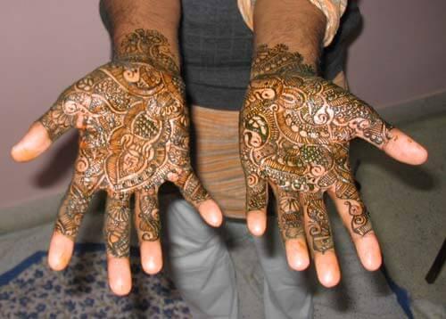 Mehndi Design for Dulha