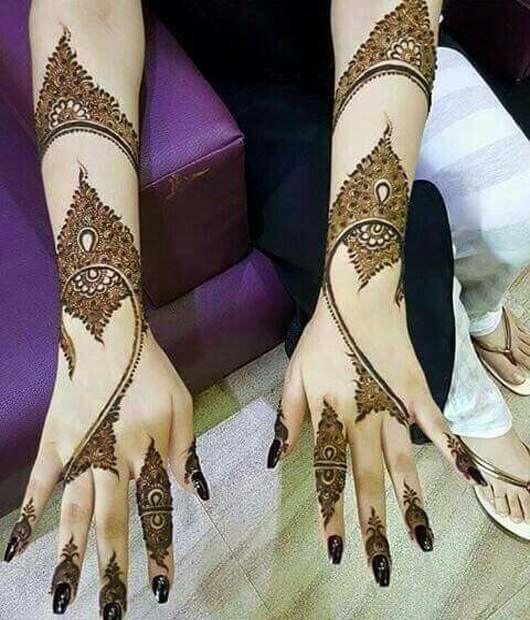 Mehndi Design for Hand