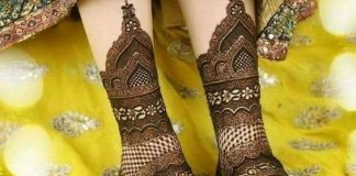 Mehndi Designs for Feet Easy