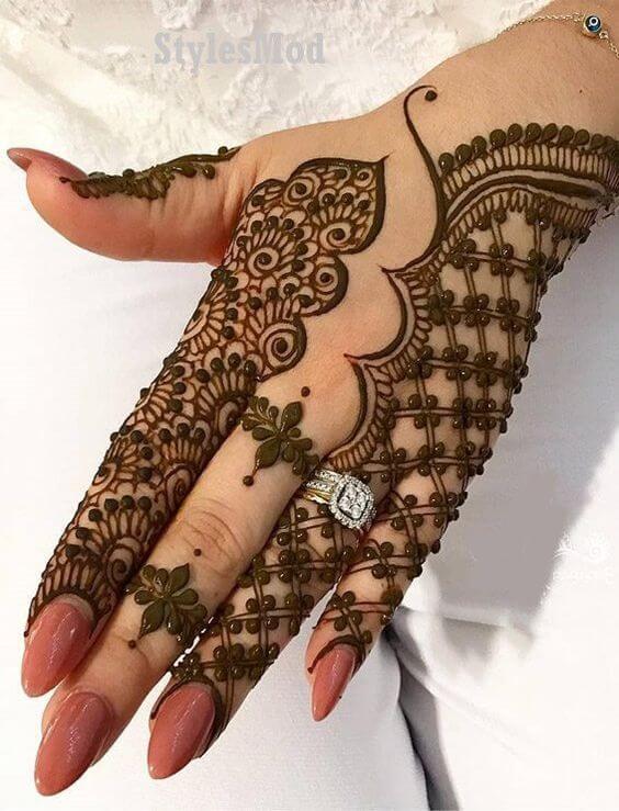 Modern Bridal Mehendi