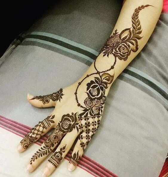 Simple Arabic Mehndi Designs / Mehndi Design Arabic