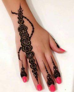 Unique Pakistani Mehndi Designs Photos for Eid