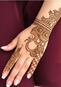 Top 12 Mehndi Bail Designs You Will Love It Wedding Bels