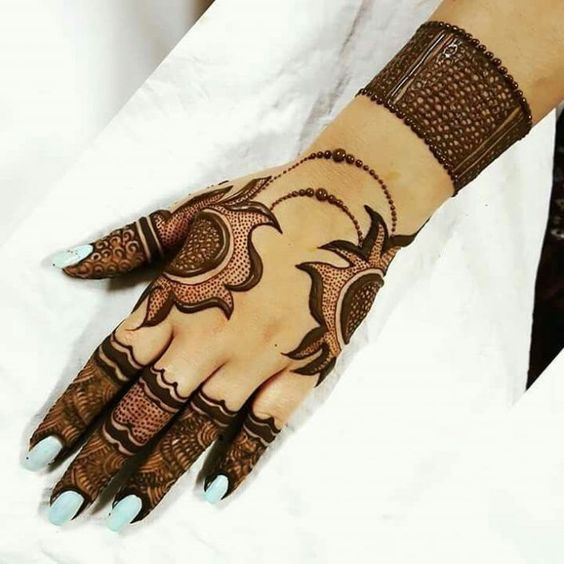 Mehndi design 2018 arabic