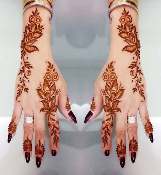 mehndi fashion design