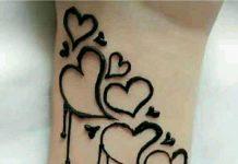 girlish mehndi design